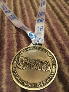 Medalha Torneio de Talca- Chile 2016