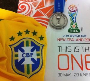 Medalha Vice Campeão Mundial sub 20 N. Zelandia 2015.