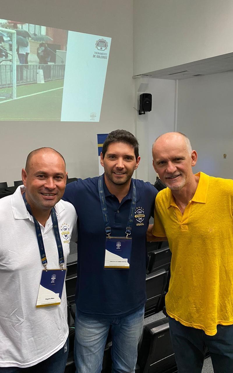 Curso em Porto Alegre da CBF Academy com Tafarel e Lori 2020.