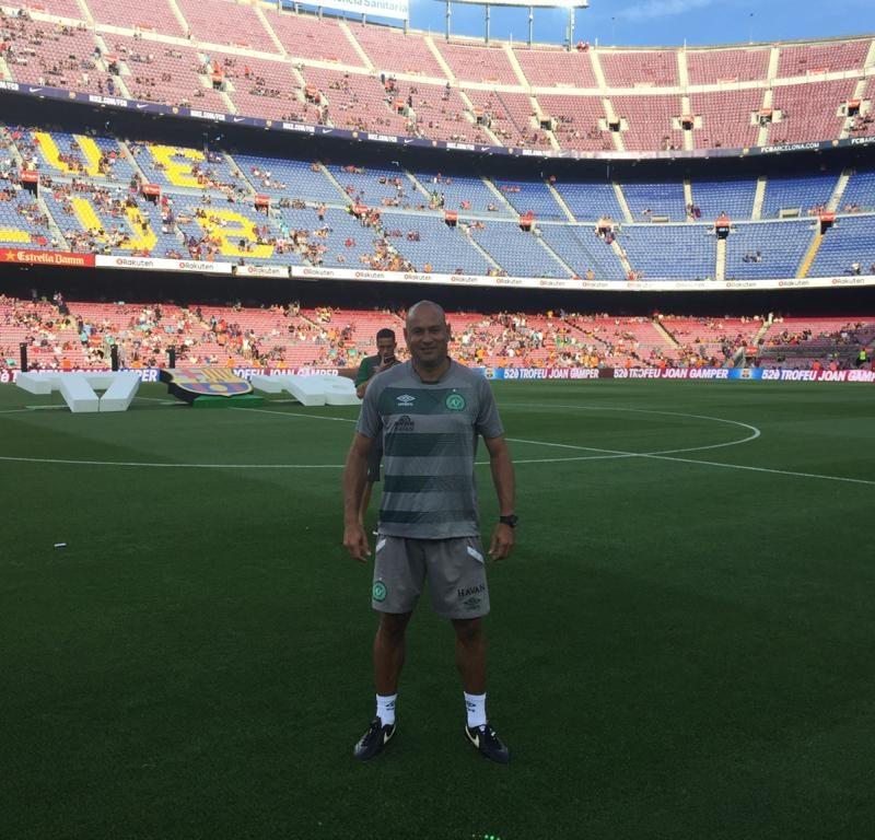 Estádio Camp Nou 2017.