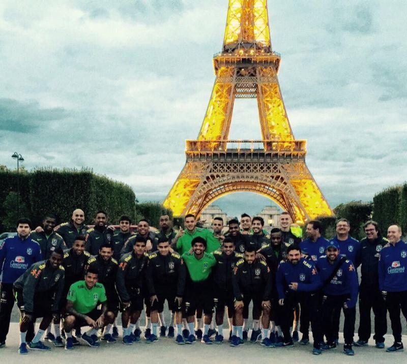 seleção Olímpica do Brasil Paris 2016.