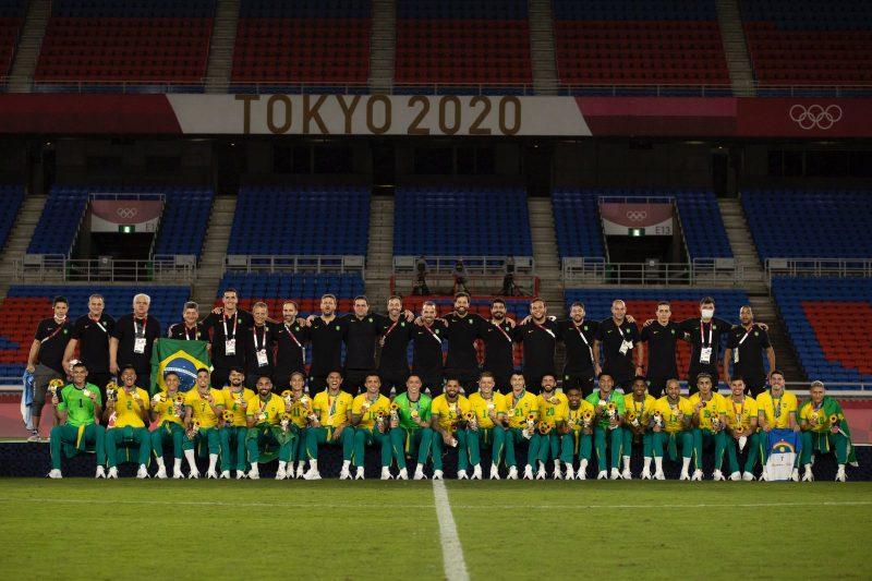 Brasil Campeão Tokyo 2020.